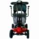 Scooter électrique pour seniors | 4 roues | Compact et démontable | Auton. 10 km | 12V | Rouge | Virgo | Mobiclinic - Foto 3