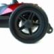 Scooter électrique pour seniors | 4 roues | Compact et démontable | Auton. 10 km | 12V | Rouge | Virgo | Mobiclinic - Foto 5