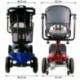 Scooter électrique pour seniors | 4 roues | Compact et démontable | Auton. 10 km | 12V | Rouge | Virgo | Mobiclinic - Foto 19