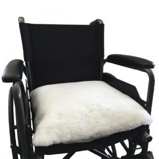 Coussin anti-escarres Carré | Pour tout types de fauteuils | Texture douce | Ualf | 44 x 44 cm
