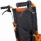 Fauteuil roulant léger | Repose-pieds et dossier | Accoudoirs rembourrés | Aluminium | Orange | Pirámide | Mobiclinic - Foto 7