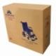 Fauteuil roulant léger | Repose-pieds et dossier | Accoudoirs rembourrés | Aluminium | Orange | Pirámide | Mobiclinic - Foto 10