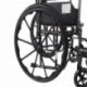 Fauteuil roulant pliable PREMIUM   Acier   Repose-pieds et accoudoirs amovibles   S220 Sevilla   Mobiclinic - Foto 4
