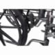 Fauteuil roulant pliable PREMIUM   Acier   Repose-pieds et accoudoirs amovibles   S220 Sevilla   Mobiclinic - Foto 5