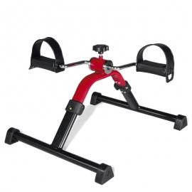 Pédalier pliable | Exerciseur de bras et de jambes | Acier peint | Rééducation et exercice
