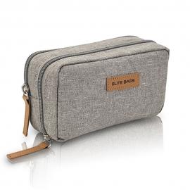 Pochette isotherme | Pour diabétiques | Gris | Diabetic's | Elite Bags