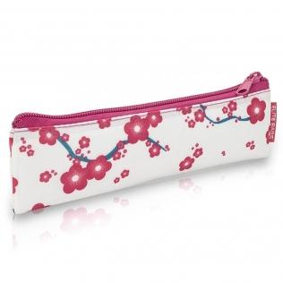 Trousse isotherme | Avec fermeture éclair | Pour stylos à insuline | Motifs fleuris roses | Insulin´s | Elite Bags