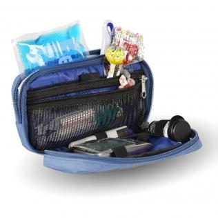 Pochette / trousse isotherme | Tissu effet jean | Pour personne diabétique | Diabetics's | Mobiclinic