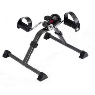 Pédalier pour réaliser des exercices de bras et jambes à la maison | Pliable | Avec compteur | Intensité réglable