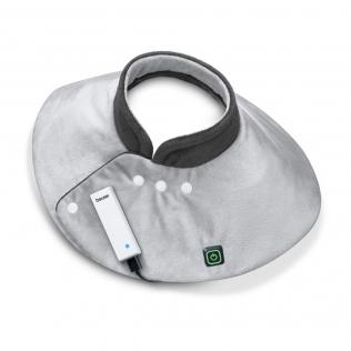 Coussin cervical électronique | Cou/épaule | Portable | Batterie externe et chargeur USB | Beurer
