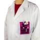 Organiseur / pochette d'infirmier | Rose à motifs | MINIKEEN'S | Mobiclinic - Foto 2
