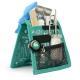 Organiseur de matériel infirmier pour blouse | Vert à motifs | Keen's de Mobiclinic | Elite Bags - Foto 1