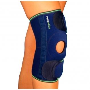 Genouillère rotulienne renforcée | Compression du genou | Néoprène | Taille unique | Emo