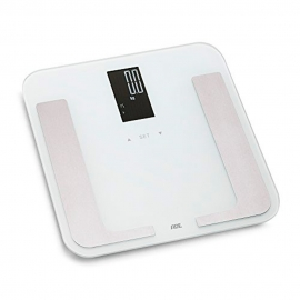 Pèse-personne numérique jusqu'à 180kg   Multifonction   Blanc   Bella   ADE