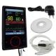 Oxymètre de pouls numérique | Avec écran TFT, pile lithium, petit et pratique | Noir | Mobiclinic - Foto 2