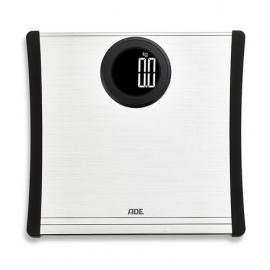 Balance électronique pour salle de bain   Argent   Affichage LCD   Jusqu'à 180Kg   BE1701   ADE