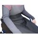 Couverture thermique imperméable et thermorégulable   Pour fauteuil roulant   90 x 105 cm - Foto 1