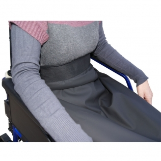 Couverture thermique imperméable et thermorégulable   Pour fauteuil roulant   90 x 105 cm