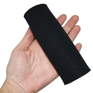 Mouse pour béquille   Repose-main rembourré   Texture douce   Noir   Néoprène