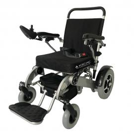 Fauteuil roulant électrique pliable   Aluminium   Auton. 17 km   24V   Léger   Sûr et confortable   Troya   Mobiclinic