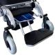 Fauteuil roulant électrique pliable   Aluminium   Auton. 17 km   24V   Léger   Sûr et confortable   Troya   Mobiclinic - Foto 7
