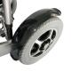 Fauteuil roulant électrique pliable   Aluminium   Auton. 17 km   24V   Léger   Sûr et confortable   Troya   Mobiclinic - Foto 8
