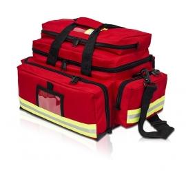 Sac de secours | Équipement d'intervention | Grande capacité | Rouge | Elite Bags