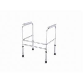Cadre en aluminium pour soutien aux toilettes | Réglables en 6 hauteur | Modèle Alcalá
