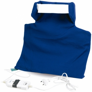 Coussin chauffant nuque et cervicales | Adieu aux douleurs et contractures des cervicales | Pratique et confortable | Mobiclinic