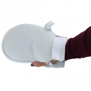 Gant anti-escarres | Couleur blanc | Texture très douce | OX
