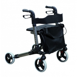 Deámbulateur 4 roues pour personnes âgées   Rollator Mod. Classic Xtra