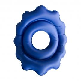 Coussin orthopédique | Gonflable | Rond |43 x 43 x 6 cm | Avec trou | AIR-01