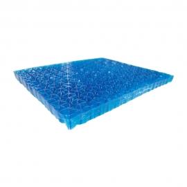 Coussin en gel | Housse en maille | 43 x 38,5 x 3,2 cm | CG-01