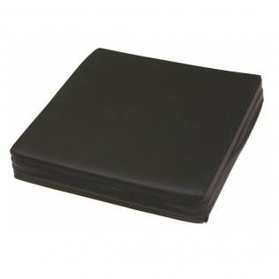 Coussin anti escarres carré en mousse viscoélastique Premium | Oreiller respirant | Surface mouillable