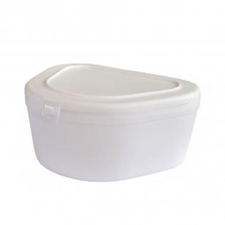 Boîtier de protection pour prothèses dentaires | 4 cm de hauteur x 8 cm de profondeur