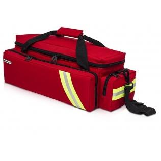 Sac pour urgences oxygénothérapie rouge | Sac premier secours | 63 x 22.5 x 24 cm