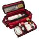 Sac pour urgences oxygénothérapie rouge | Sac premier secours | 63 x 22.5 x 24 cm - Foto 3