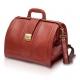 Mallette en cuir brun pour les visites médicales | Modèle DOC'S | Elite Bags - Foto 1