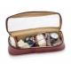 Mallette en cuir brun pour les visites médicales | Modèle DOC'S | Elite Bags - Foto 3