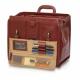 Mallette en cuir brun pour les visites médicales | Modèle DOC'S | Elite Bags - Foto 5