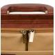 Mallette en cuir brun pour les visites médicales | Modèle DOC'S | Elite Bags - Foto 8