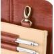 Mallette en cuir brun pour les visites médicales | Modèle DOC'S | Elite Bags - Foto 9