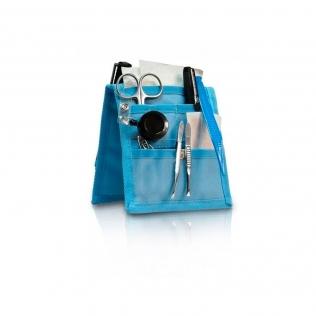 Pochette / organiseur pour infirmier à porter sur la blouse | Bleu | Keen's | Elite Bags