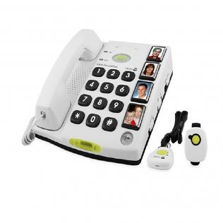 Téléphone intuitif avec fonction d'alerte   Numérotation rapide d'urgence   Secure 347   Doro