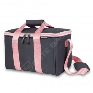 Sac de premiers soins polyvalent | Sac d'urgence | Gris et rose | Elite Bags