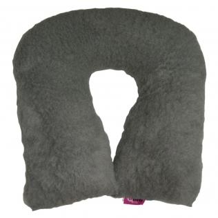 Coussin anti-escarres | Sanitized | Forme de fer à cheval | Couleur gris | 44 x 11 cm