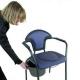 Chaise percée/WC| Portable | Bleu - Foto 2