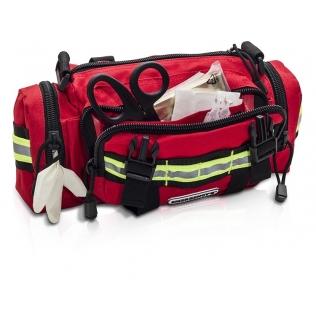 Sac de secours | Fonctionnel et confortable | Rouge | Elite Bags