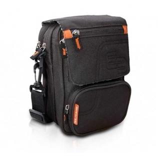 Sac à bandoulière isotherme | Pour personnes diabétiques | Noir et orange | FIT´S | Elite Bags