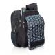 Sac à bandoulière isotherme | Pour personnes diabétiques | Noir et orange | FIT´S | Elite Bags - Foto 2